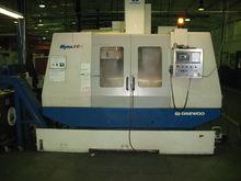 2000 Daewoo MYNX 500 CNC Mills