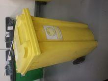 (5) Wheelie Bin - Yellow