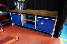 Workbench with 2-Drawers & 2-Cu
