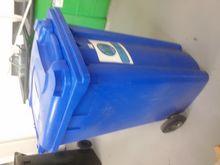 (5) Wheelie Bin - Blue