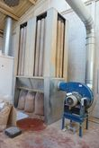 Extraction Unit with Sawdust Ba