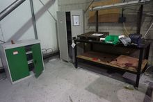 Metal Bench with Eclipse Vice &