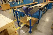Bench with Irwin 6 Record Vice