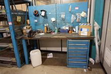 Work Bench with Irwin 6 Record