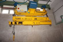 Demag Hoist with LEM Lifting Be