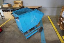 Mobile Tipping Skip 750mm x 1.1