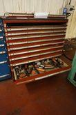 10-Drawer Cabinet with Plug Gau