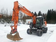 2012 Hitachi zx 145 w mobile ex