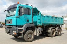 2007 Man tga 26.480 3-way tippe