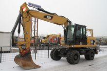 2012 Cat m315d mobile excavator