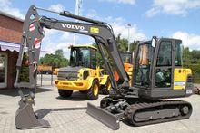 2017 Volvo ec55c compact excava