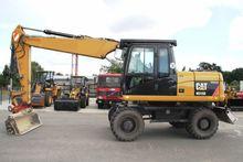 2010 Cat m315 d wheel excavator