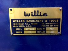 Used Willis CP-1550