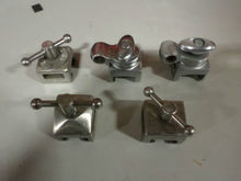 Various Clark Rail Sockets.  Se