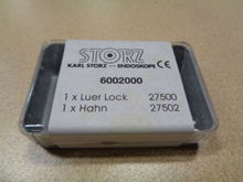Storz 27500 Luer Lock and 27502