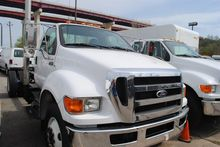 2015 FORD F750 CAB CHASSIS