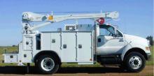2016 FORD F750 Crane truck