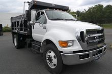 2015 FORD F750 CONTRACTOR TRUCK