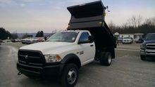 2016 RAM 4500HD Dump truck