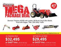 2017 Branson Tractors 4520R Tra