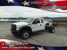 2016 Ford F550 Cab chassis
