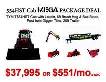 2016 TYM Tractors TYM T554HST C