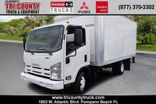 2011 ISUZU NPR Box truck - stra
