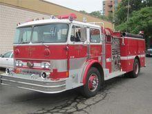 1982 HAHN HCP15 FIRE TRUCK