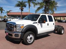 2012 FORD F550 CAB CHASSIS