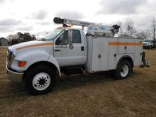 2006 FORD F750 CAB CHASSIS