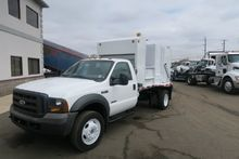 2005 FORD F 450 GARBAGE TRUCK