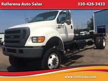 2004 FORD F-650 CAB CHASSIS