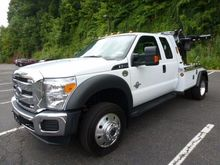 2016 FORD F550 WRECKER TOW TRUC