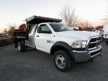 2016 RAM 5500HD CONTRACTOR TRUC