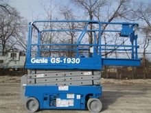 2008 GENIE GS1930 Scissor lifts