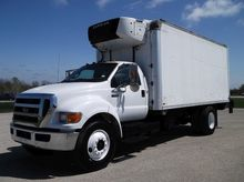 2011 FORD F650 XLT REEFER TRUCK