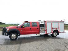 2013 FORD SPARTAN ERV FIRE TRUC