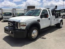 2010 FORD F450 XLT WRECKER TOW