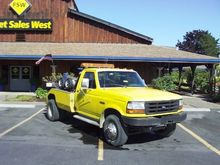 1997 FORD WRECKER TOW TRUCK