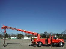 2005 FORD F750 Crane truck