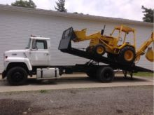 1988 FORD L8000 ROLLBACK TOW TR