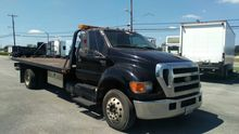 2006 FORD F650 WRECKER TOW TRUC