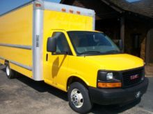 2012 GMC SAVANA G3500 BOX TRUCK
