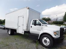 2016 FORD F-650SD BOX TRUCK - S