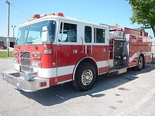 1998 PIERCE SABER FIRE TRUCK