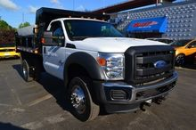 2011 FORD F550 CAB CHASSIS