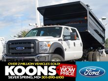 2016 FORD F550 CONTRACTOR TRUCK