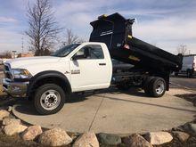 2016 Ram 5500HD Dump truck