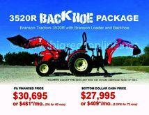 2017 Branson Tractors 3520R Bac