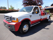 1999 FORD F550 WRECKER TOW TRUC